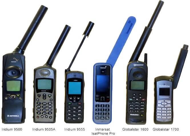 Selectie Satelliet Telefoons